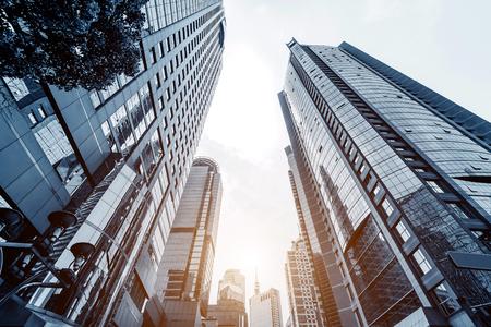 Foto de Metropolis of Shanghai's modern office building - Imagen libre de derechos