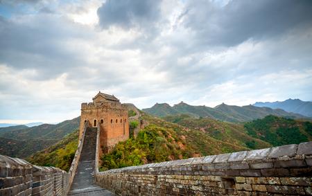 Photo pour great wall, the landmark of china. - image libre de droit