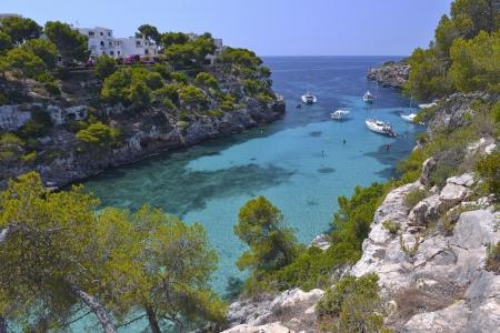 The Beautiful Beach of Cala Pi in Mallorca, Spain ( Balearic Islands )