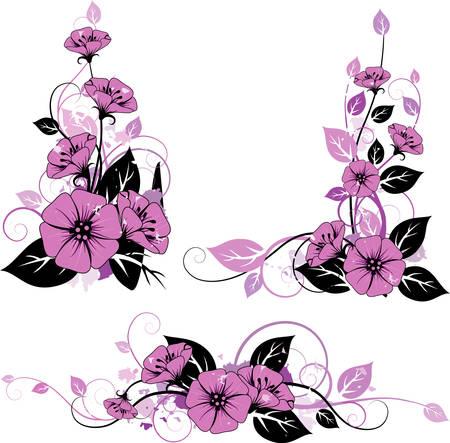 Floral elemebts