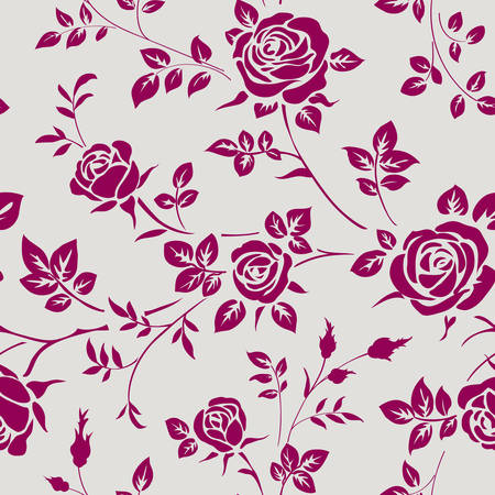 Photo pour SEamless pattern with roses - image libre de droit