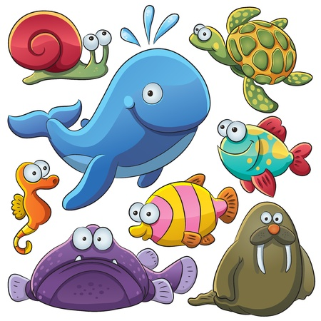 Photo for Sea Animals Collection - Royalty Free Image