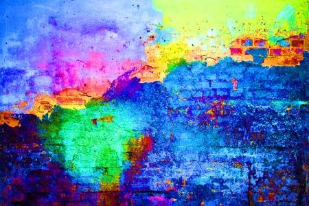 Foto de old painted wall - Imagen libre de derechos