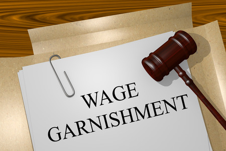 WAGE GARNISHMENT Title On Legal Documents