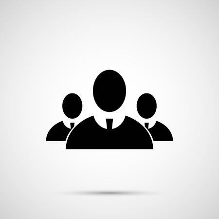 People vector design. 3 man icon.