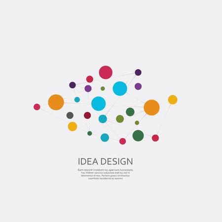 Illustration pour Vector connect design - image libre de droit
