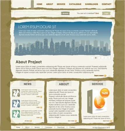 website design template 1