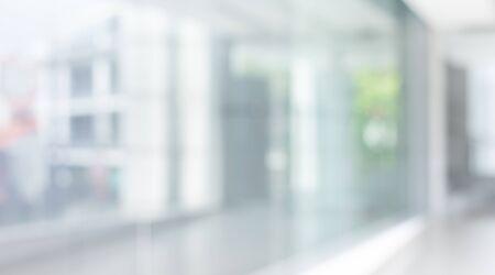 Foto de Blurred of abstract glass wall building,window background.modern material for key visual design - Imagen libre de derechos