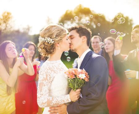 Photo pour Wedding celebration - image libre de droit