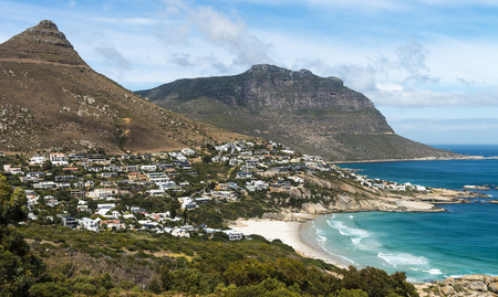 Beautiful shot of Camps Bay (Cape Town) in South Africa