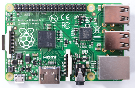 Raspberry Pi (close-up shot as image for editorial use)