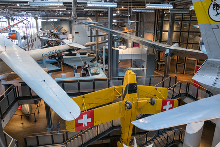 Airplanes exhibition at the German Museum of Technology (DTMB)