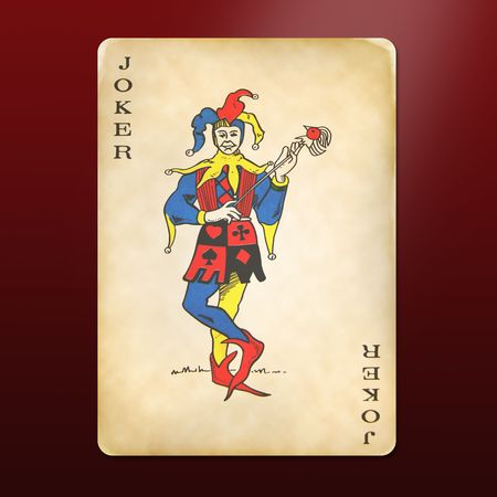 antique and multi-used joker