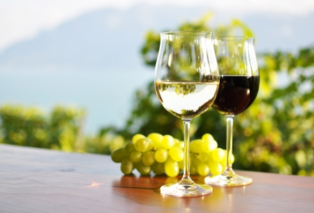 Photo for Wine and grapes - Royalty Free Image