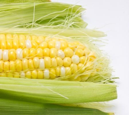 Foto für Close up of sweetcorn  - Lizenzfreies Bild