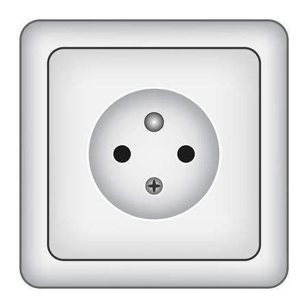 vector wall socket