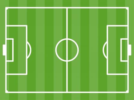 Illustration pour vector football field - image libre de droit