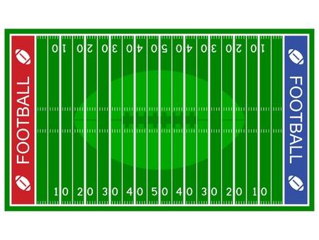 Illustration pour vector american football field - image libre de droit