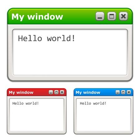 vector computer windows
