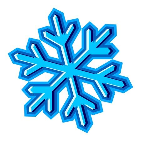 vector snowflake symbol