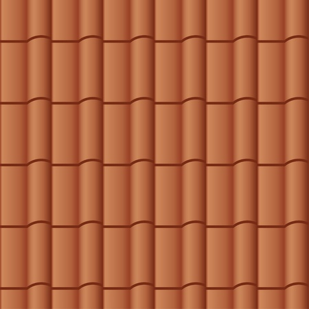 vector roof tile seamless background