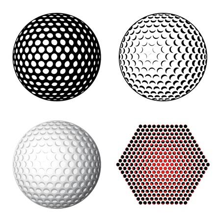 golf ball symbols