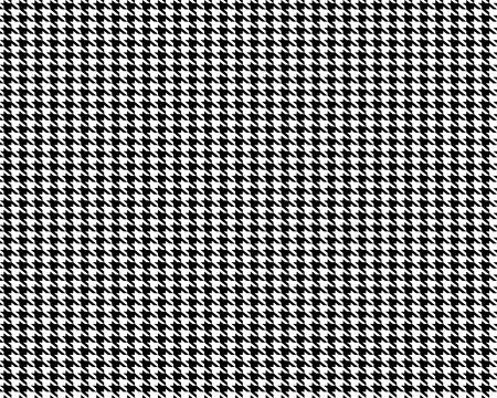 Ilustración de Creative vector illustration of fabric houndstooth seamless vector pattern background. Geometric print hounds tooth art design. Abstract concept english glen plaid graphic element for fashion - Imagen libre de derechos