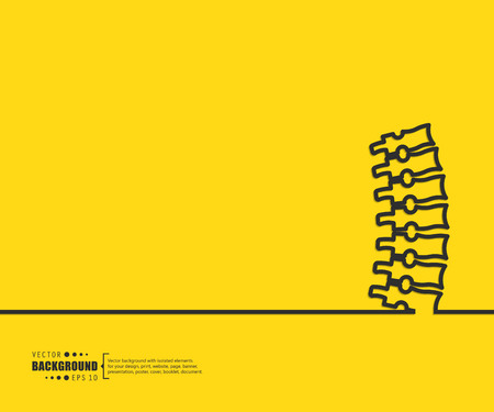 Illustration pour Abstract creative concept vector line draw background for web, mobile app, illustration template design, business infographic, page, brochure, banner, presentation, poster, cover, booklet, document. - image libre de droit