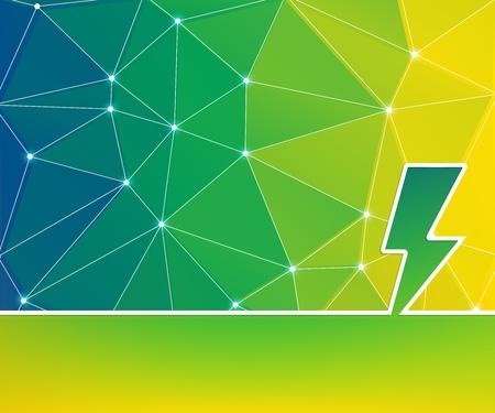 Foto de Abstract creative concept background for Web and Mobile Applications, Illustration template design, business infographic, page, brochure, banner, presentation, poster, cover, booklet, document. - Imagen libre de derechos