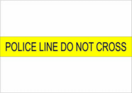 Photo for Police line do not cross illustration - Royalty Free Image