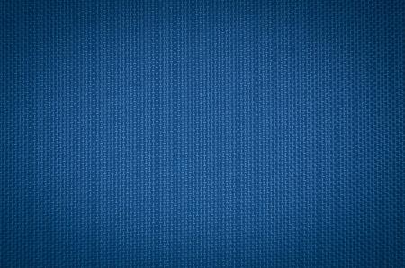 blue nylon fabric  texture background.
