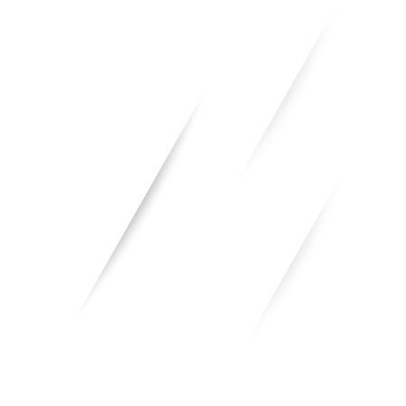 Illustration pour Triple rift wrinkle lines cross on white abstract background - image libre de droit