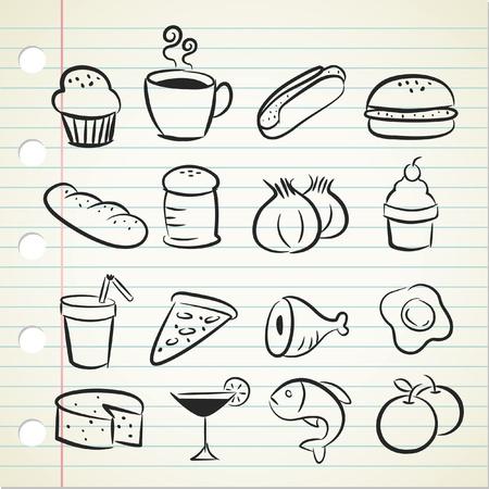 sketchy food icon