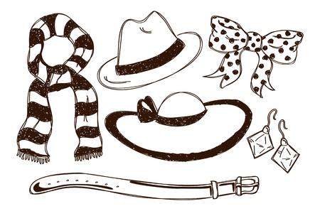 set of accessories