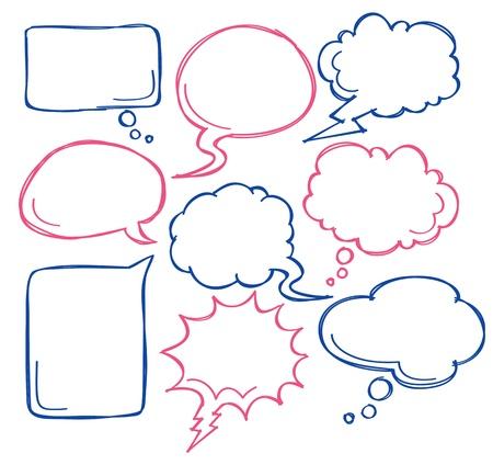 Illustration pour comic bubble speech - image libre de droit