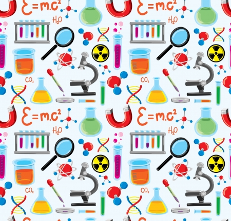 laboratory equipment background