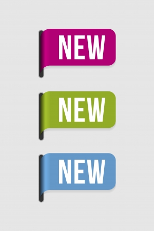 Use this label to highlight anything new  product, arrival, season, color