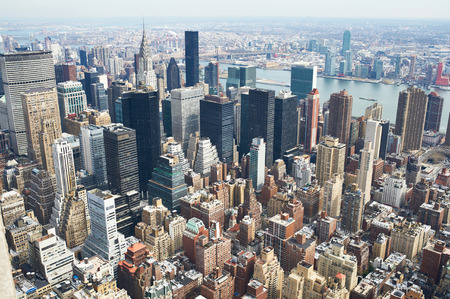 Photo for Cityscape view of Manhattan, New York City, USA - Royalty Free Image