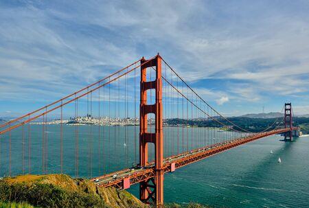 Photo pour Golden Gate Bridge, San Francisco, California, USA - image libre de droit