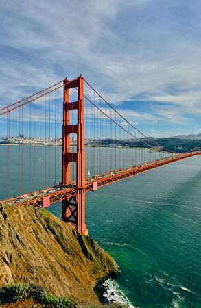 Photo for Golden Gate Bridge, San Francisco, California, USA - Royalty Free Image