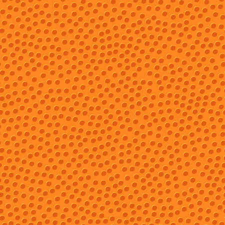 basketball orange ball texture with bumps seamless pattern