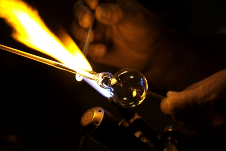 Glass blower.