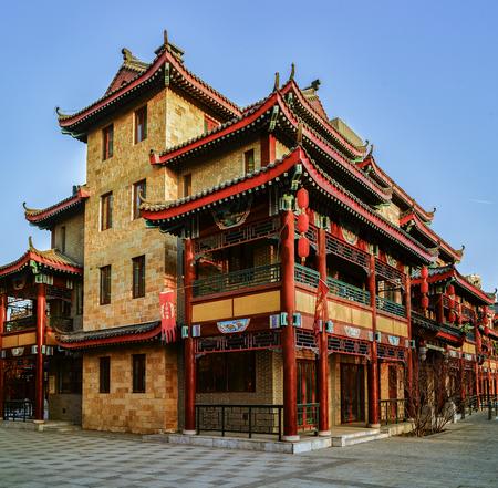Shijiazhuang City, Hebei Province, Chinese, Zhuoda Sun City, Tang Town
