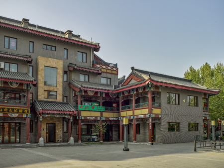 Chinese Villas at China, Hebei, Shijiazhuang.