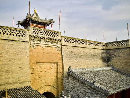 China, Hebei Province, Zhangjiakou City, Yu County,Nuanquan town Wall