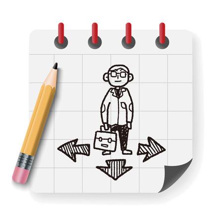 business way doodle