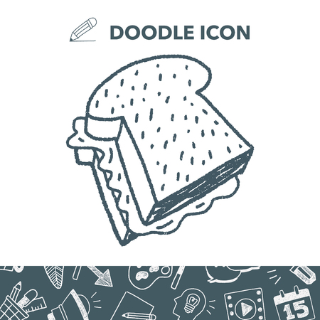 Doodle Toast: Royalty-free vector graphics