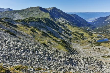 Amazing panorama from Mozgovitsa pass,  Pirin Mountain, Bulgaria