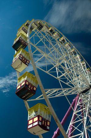 Big Wheel located on the Birrarung Marr, Melbourne - Australia