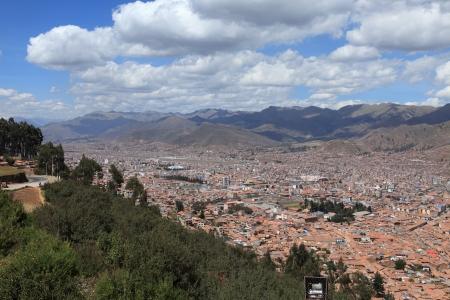 The City Cuzco in Peru